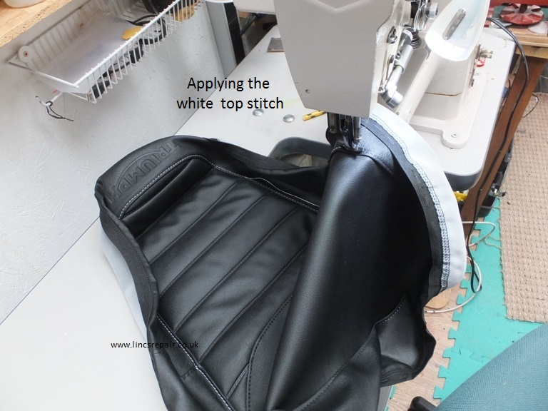 DSCFJPG - Stretch vinyl for motorcycle seat